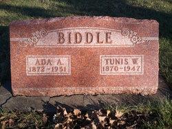 Ada Alice <i>Hooe</i> Biddle