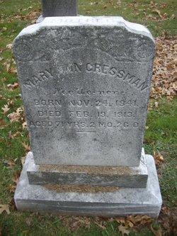Mary Ann <i>Wesner</i> Cressman
