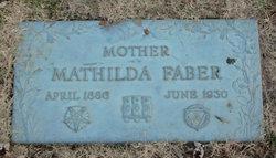 Mathilda <i>Weider</i> Faber