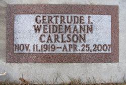 Gertrude Irene <i>Davis</i> Carlson