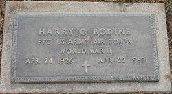 Harry G Bodine