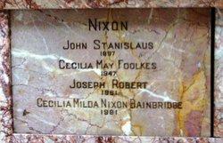 Cecilia Milda <i>Foolkes Nixon</i> Bainbridge