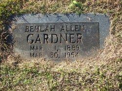 Beulah <i>Allen</i> Gardner