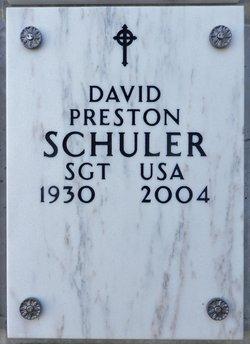 David Preston Schuler