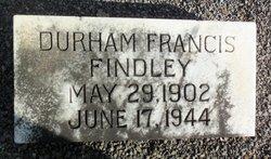 Durham Francis Findley