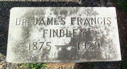 Dr James Francis Findley