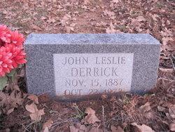 John Leslie Les Derrick