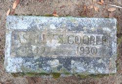 Ashley S Cooper
