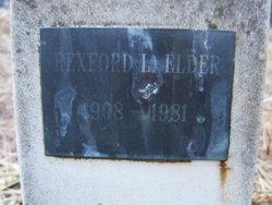 Rexford L Elder