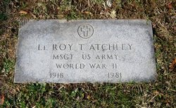 Le Roy T Atchley
