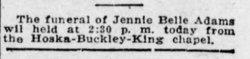 Jennie Bell <i>Bloodgood</i> Adams
