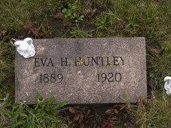 Eva H <i>Wilcox</i> Huntley