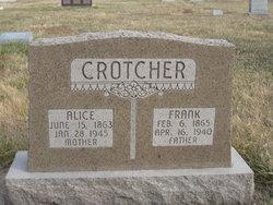 Franklin Frank Crotcher