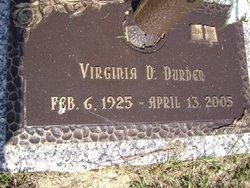 Virginia Dare Durden