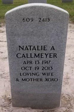 Natalie Antoinette <i>Cavagnaro</i> Callmeyer
