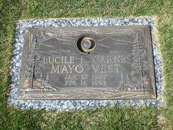 Lucile Lillian <i>Winegar</i> Carnes Mayo Vest