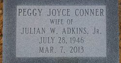 Peggy Joyce <i>Conner</i> Adkins