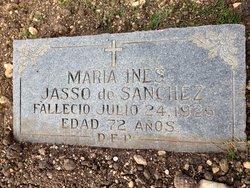 Maria Ines <i>Jasso</i> Sanchez