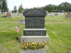 Frances R. <i>Barrows</i> Partridge