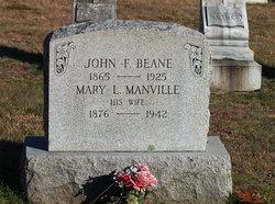 Mary L. <i>Manville</i> Beane