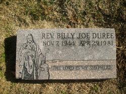 Rev Billy Joe Duree