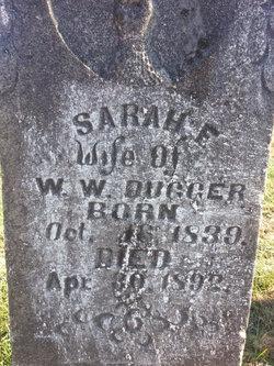 Sarah F. <i>Hyde</i> Dugger