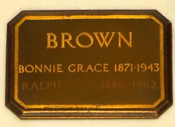 Mrs Bonnie Grace <i>Young</i> Brown