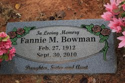 Fannie Mae Bowman