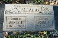 Agnes Bridgette <i>O'Sullivan</i> Alladio