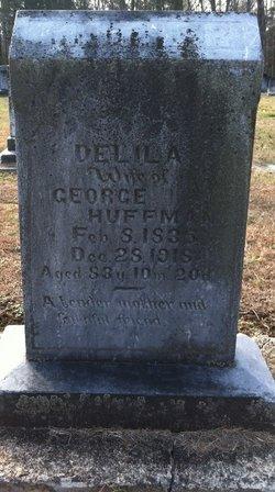 Delila Mae Dilley <i>Boon</i> Huffman