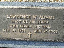 Lawrence W Adams