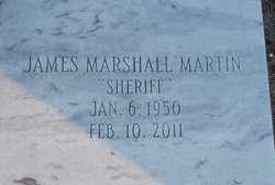 James Marshall Sheriff Martin