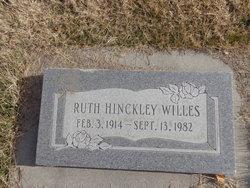 Ruth Bitner <i>Hinckley</i> Willes