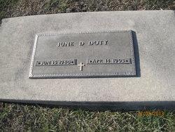 June D. <i>Ament</i> Doty