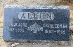 Edwin John Allen