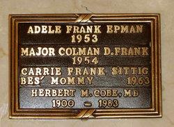 Adele <i>Frank</i> Epman