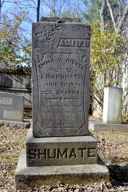 Emma Virginia <i>Rieves</i> Shumate