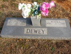 Betty Lou <i>Scaggs</i> Dewey