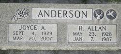 H Allan Anderson