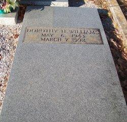 Dorothy Jean <i>Helms</i> Williams