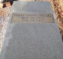 Polly <i>Dixon</i> Helms
