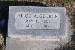 Alice A George