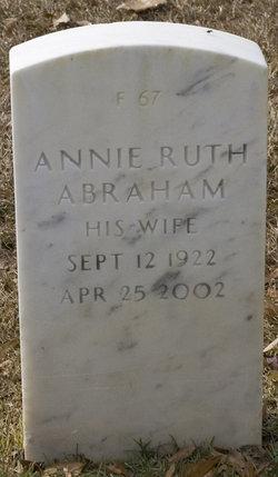 Annie Ruth Abraham