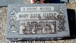 Mary Ellen <i>Green</i> Albury