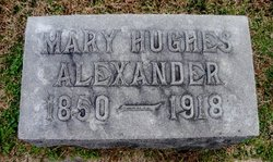 Mary <i>Hughes</i> Alexander
