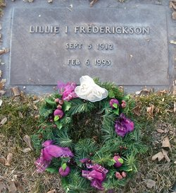 Lillie I <i>Lowe</i> Frederickson