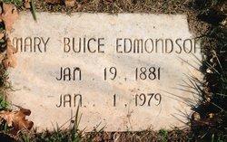 Mary Emily <i>Buice</i> Edmondson