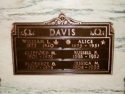Alice <i>Peebles</i> Davis