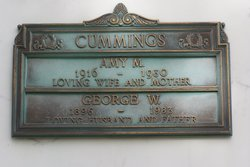 Amy May <i>Burks</i> Cummings