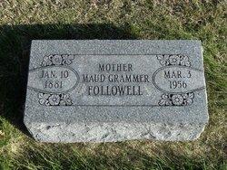 Maude <i>Grammer</i> Followell